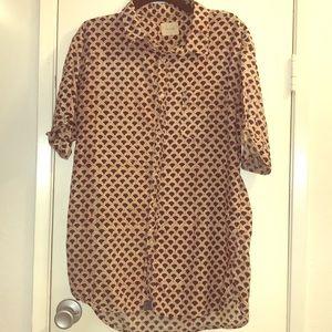 JACHS Hilo dress shirt men's XL cotton button up